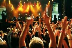 движение толпы нерезкости Стоковое Изображение RF
