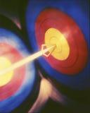 двойная цель Стоковое фото RF