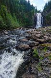 Двойной водопад в Тронхейме Стоковое Изображение