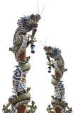 двойной дракон Стоковые Фотографии RF