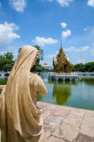 Дворец боли челки, Ayuthaya, Таиланд Стоковые Изображения