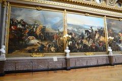 Дворец Версаль в Иль-де-Франс Стоковые Изображения RF