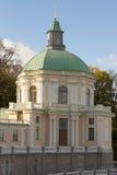 Дворец в Oranienbaum, России Стоковое фото RF