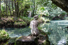 Дворец Казерты королевский, статуя Венеры Стоковая Фотография