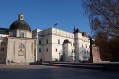 дворец Литвы королевский Стоковая Фотография