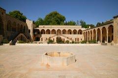 дворец двора beiteddine внутренний Стоковые Изображения