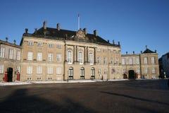дворец amalienborg Стоковые Фотографии RF