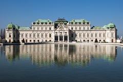 дворец belvedere Стоковое Изображение