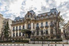 Дворец Cantacuzino Стоковое фото RF