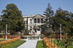 дворец dolmabahce Стоковая Фотография