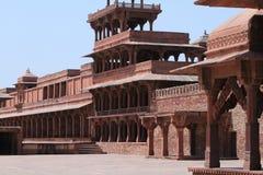 Дворец Fatehpur Sikri Джайпура в Индии Стоковые Изображения