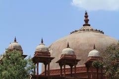 Дворец Fatehpur Sikri Джайпура в Индии Стоковые Фотографии RF