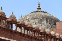 Дворец Fatehpur Sikri Джайпура в Индии Стоковые Фото