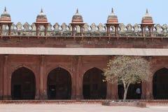 Дворец Fatehpur Sikri Джайпура в Индии Стоковое Фото