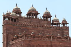 Дворец Fatehpur Sikri Джайпура в Индии Стоковые Изображения RF