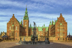 Дворец Frederiksborg, Дания Стоковые Изображения RF