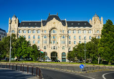 Дворец Gresham в Будапеште, Венгрии Стоковые Фото