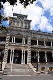 дворец iolani Гавайских островов honolulu Стоковые Изображения