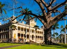 Дворец Iolani, Гонолулу, Оаху, Гавайи Стоковые Изображения RF