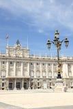 дворец madrid королевский Стоковое Изображение