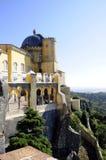 Дворец Pena национальный - место наследия - лес Sintra Стоковая Фотография
