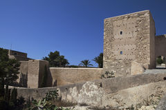 двор santa замока Барвары Стоковая Фотография RF