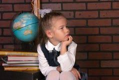 Девушка в школьной форме Стоковая Фотография RF
