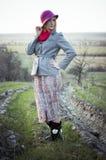 Девушка в willage Стоковые Фото