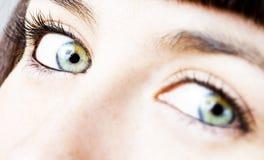 девушка глаза Стоковое фото RF