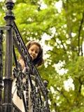 девушка красивейшей общности первая она Стоковое Фото