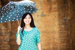 Девушка красоты романтичная Outdoors Стоковая Фотография