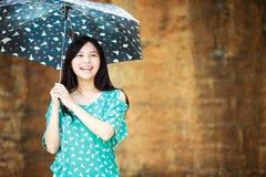 Девушка красоты романтичная Outdoors Стоковая Фотография RF