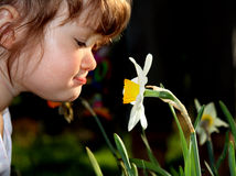 девушка малая Стоковое Фото