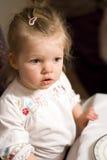 девушка младенца милая Стоковое Изображение