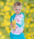 Девушка на каникуле Стоковые Фотографии RF