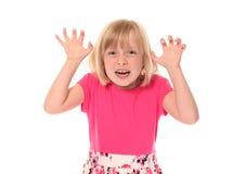 девушка немногая страшные детеныши Стоковое фото RF