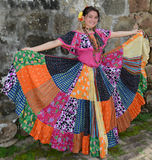 Девушка Панамы Стоковая Фотография