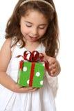 девушка рождества немногая другое настоящий момент Стоковое Фото