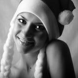 девушка рождества Стоковые Изображения RF