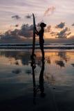 Девушка серфера Стоковое Фото
