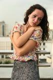 девушка сиротливая Стоковое Фото