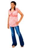 девушка стоя подростков Стоковое Изображение
