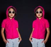 Девушка с солнечными очками Стоковые Фото