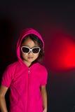 Девушка с солнечными очками Стоковое Изображение RF