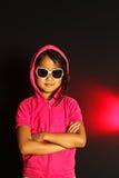 Девушка с солнечными очками Стоковая Фотография RF