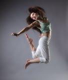 девушка танцульки Стоковые Фото