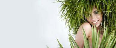 девушка экологичности Стоковое фото RF