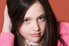 девушка довольно Стоковая Фотография RF