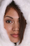 девушка 2 эскимосов Стоковое Фото