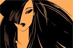 девушка Стоковое Изображение RF